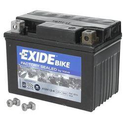 Akumulator EXIDE BIKE AGM YTX4L-BS