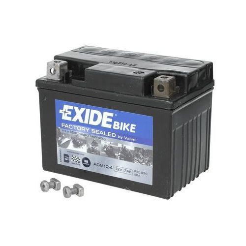 Akumulatory do motocykli, Akumulator EXIDE BIKE AGM YTX4L-BS