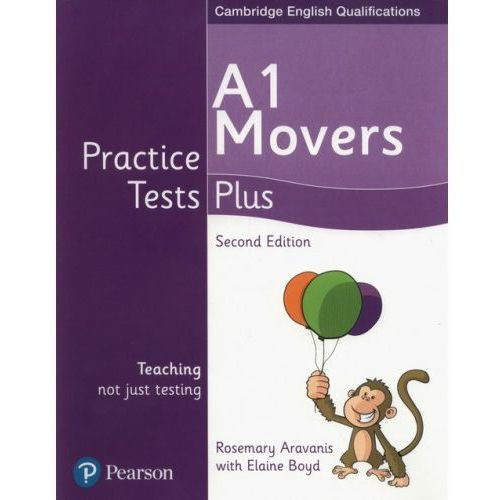 Książki do nauki języka, A1 Movers Practice Tests Plus - Aravanis Rosemary, Boyd Elaine (opr. miękka)
