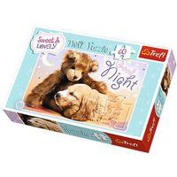 Puzzle, Trefl Sweet&Lovely. Słodkich snów - puzzle (60 elementów) - Trefl