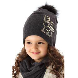 Czapka zimowa dla dziewczynki 3X35AR Oferta ważna tylko do 2022-10-17
