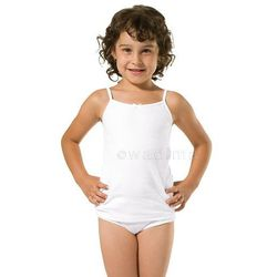 Podkoszulek dziewczęcy 104-116 ramiączko 40218 Wadima