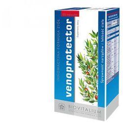 Venoprotector (60 kaps.) - Suplement diety działający ochronnie na żyły i naczynia krwionośne oraz odbudowująco. Prawidłowe funkcjonowanie naczyń krwionośnych. DARMOWA DOSTAWA OD 65 ZŁ