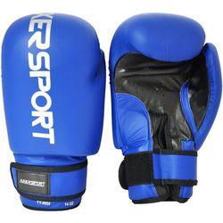 Rękawice bokserskie AXER SPORT A1324 Niebieski (14 oz) + Zamów z DOSTAWĄ JUTRO!