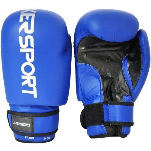 Rękawice do walki, Rękawice bokserskie AXER SPORT A1324 Niebieski (14 oz)