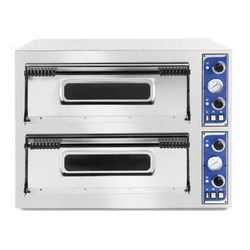Hendi Piec do pizzy 2-komorowy 9400W | 8x Ø 32cm | 400V - kod Product ID