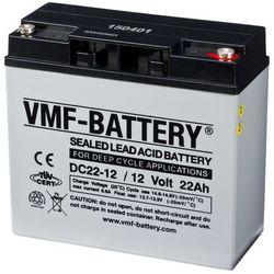 VMF AGM Akumulator głębokiego rozładowania 12 V 22 Ah DC22-12 Darmowa wysyłka i zwroty