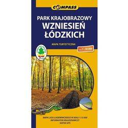 Park Krajobrazowy Wzniesień Łódzkich. Mapa turystyczna w skali 1:30 000 (opr. broszurowa)