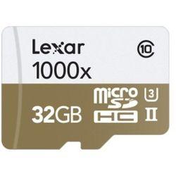 Lexar MicroSDHC Professional 32GB UHS-II 1000x + USB Adapter