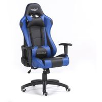 Fotele dla graczy, Fotel gamingowy NORDHOLD - YMIR - niebieski