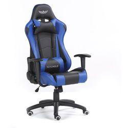 Fotel gamingowy NORDHOLD - YMIR - niebieski