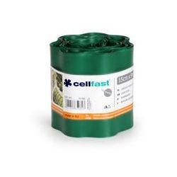 Obrzeże ogrodowe 15cm x 9m Cellfast : Kolor - Zielony ciemny