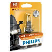 Żarówki halogenowe samochodowe, Żarówka samochodowa Philips VISION 12258PRB1 H1 oP14,5s/55W/12V