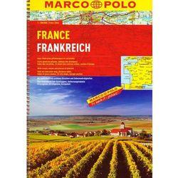 Atlas Marco Polo. Francja 1:300 000 (opr. broszurowa)