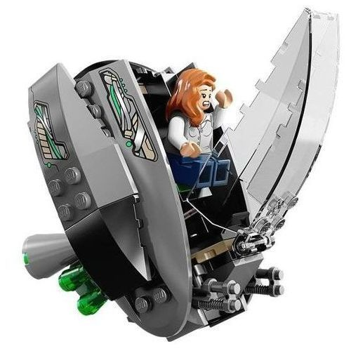 Klocki dla dzieci, Lego SUPER HEROES Superman black zero escape 76009
