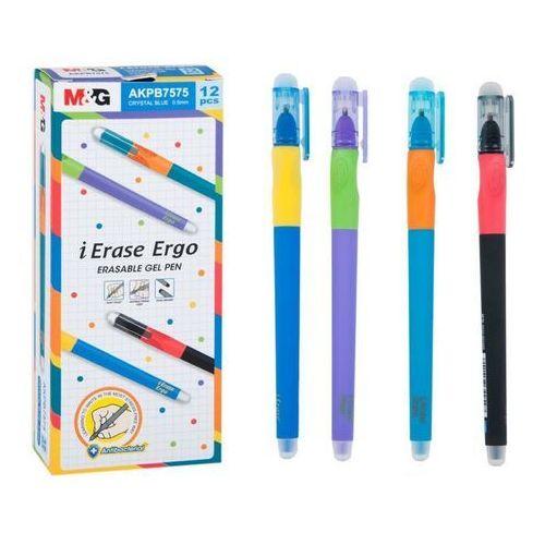 Długopisy i wkłady, Długopis ścieralny Ergo 0,5 niebieski