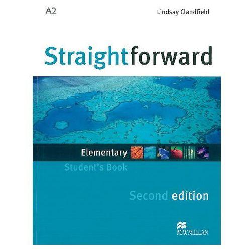 Książki do nauki języka, Straightforward Elementary, Second Edition, Student's Book (podręcznik) (opr. miękka)