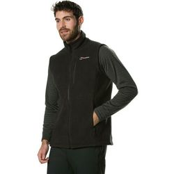 Berghaus Prism PolarTec InterActive Fleece Vest Men, czarny XL 2021 Bezrękawniki polarowe i wełniane