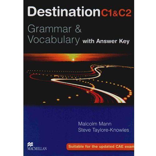 Książki do nauki języka, Destination C1&C2 Grammar & Vocabulary Student's Book (podręcznik) with Key (opr. miękka)