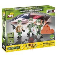 Figurki i postacie, Klocki COBI 2026 Amerykanie - 3 figurki z akcesoriami