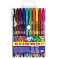 Długopisy, Zestaw długopisów żelowych 10 kolorów 80160