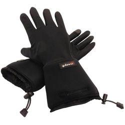 Rękawice wewnętrzne ogrzewane glovii GL2 czarne - XXS-XS