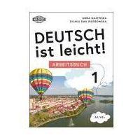 Książki do nauki języka, Deutsch ist leicht. Arbeitsbuch - Gajewska Anna, Piotrowska Sylwia (opr. miękka)