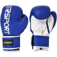 Rękawice do walki, Rękawice bokserskie AXER SPORT A1331 Niebiesko-Biały (12 oz)