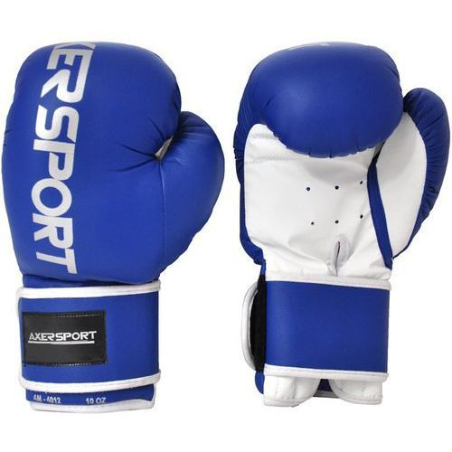 Rękawice do walki, Rękawice bokserskie AXER SPORT A1331 (12 oz) Niebiesko-biały