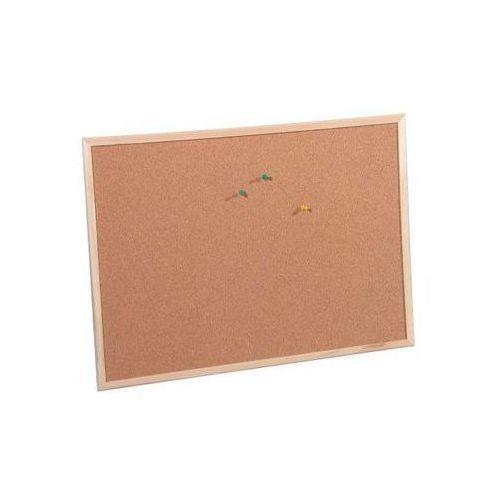 Tablice szkolne, Tablica korkowa 80 x 50 cm KNOR