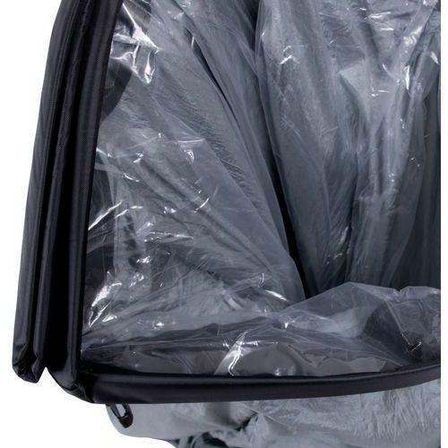 Leżaki ogrodowe, Oryginalny Dmuchany leżak lazy bag na lato inSPORTline Sofair materac fotel - Kolor Szary