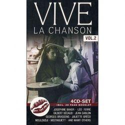 VARIOUS ARTISTS - Vive La Chanson vol. II (4CD)