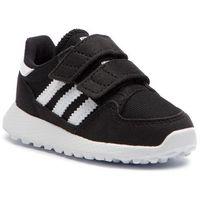 Buty sportowe dla dzieci, Buty adidas - Forest Grove Cf I B37749 Cblack/Ftwwht/Cblack/Noiess/Ftwbla/Noiess