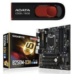Gigabyte GA-B250M-D3H s1151 4DDR4 DARMOWA DOSTAWA DO 400 SALONÓW !!