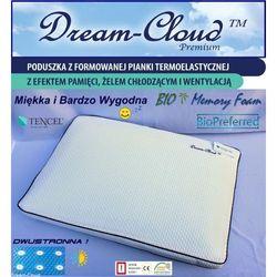Poduszka Dream-Cloud Premium Bio Chłodząca-Wentylowana 60x40x12cm