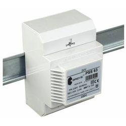 Transformator 1-fazowy modułowy PSS 60VA 230/24V 16024-9938 BREVE