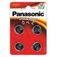 Baterie, Panasonic CR2032EL/4B (4 szt.) - produkt w magazynie - szybka wysyłka!