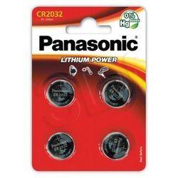 Panasonic CR2032EL/4B (4 szt.) - produkt w magazynie - szybka wysyłka!