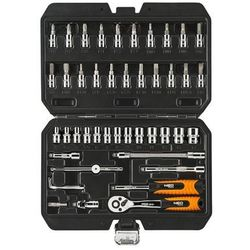 Zestaw kluczy nasadowych NEO 08-660 1/4 cala (46 elementów) + DARMOWY TRANSPORT!