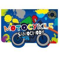 Kolorowanki, Kolorowanka z wykrojnikiem Motocykle i samochody - Praca zbiorowa