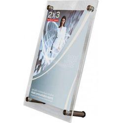 Tabliczka informacyjna stojąca EuroPLEX Portable 2x3 190x95mm