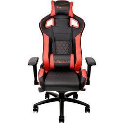 Fotele gamingowe Thermaltake eSports GT Fit F100 Black Red GC-GTF-BRMFDL-01
