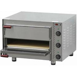 Piec do pizzy dwukomorowy | 8xśr.25cm | 4500W | 710x650x(H)440mm