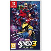 Gry Nintendo Switch, Marvel Ultimate Alliance 3 The Black Order