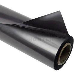 Folia stalowa ferromagnetyczna czarna PLAIN 0,5 mm - na metry 1 mb