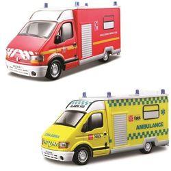 Renault Master Ambulans,różne rodzaje 1:50 BBURAGO