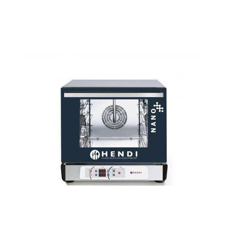 Piece i płyty grzejne gastronomiczne, Hendi Piec konwekcyjny z nawilżaniem | 4x 450x340 mm | elektryczny | sterowanie elektroniczne - kod Product ID