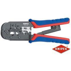 Szczypce do zaciskania Knipex, 97 51 10, RJ11, RJ12, RJ45