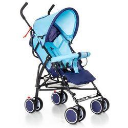 Wózek spacerówka Moolino Compact D niebiesko-granatowy