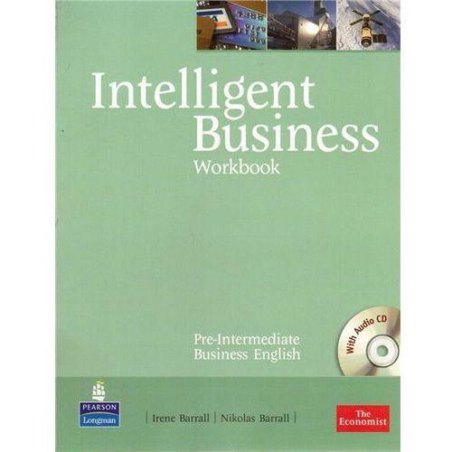 Książki do nauki języka, Intelligent Business Pre-Intermediate Workbook (zeszyt ćwiczeń) + CD (opr. miękka)